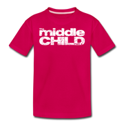 The Middle Child T-Shirt - dark pink