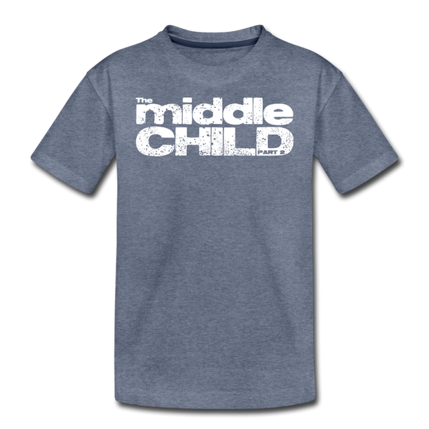 The Middle Child T-Shirt - heather blue