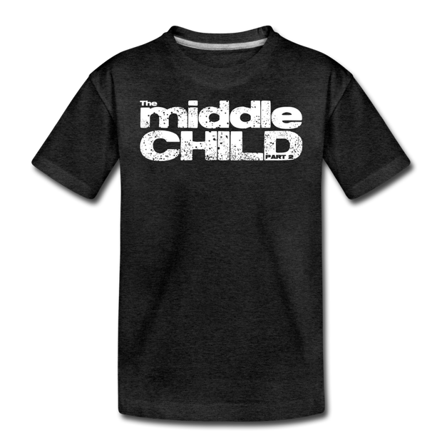 The Middle Child T-Shirt - charcoal gray