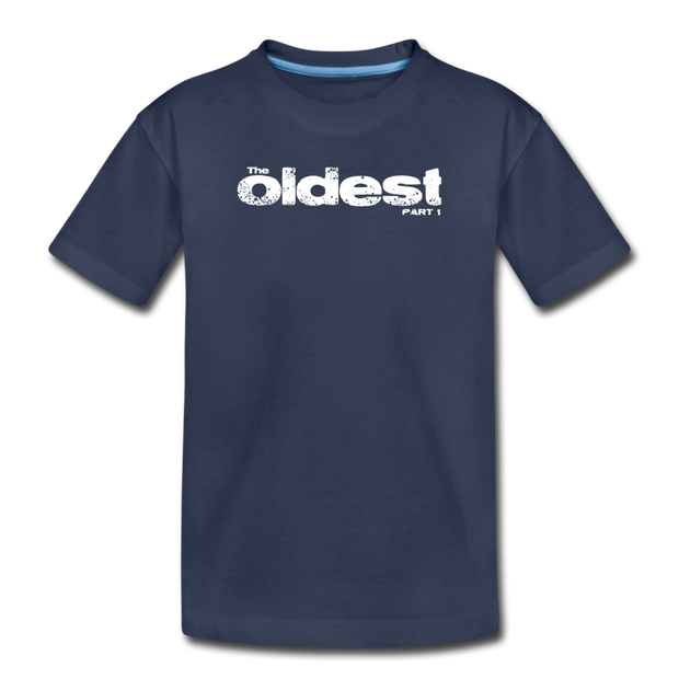 The oldest Toddler T-Shirt - navy