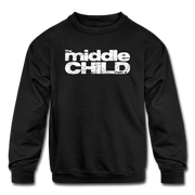 The middle child Youth Sweatshirt - black