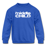 The middle child Youth Sweatshirt - royal blue