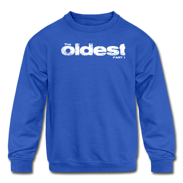 The oldest Youth Sweatshirt - royal blue