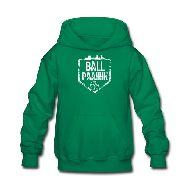 Ball Paahhk Youth Sweatshirt - kelly green