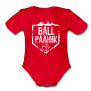Ball Paahhk Infant One Piece - red