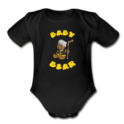 Baby Bear Infant One Pieces - black