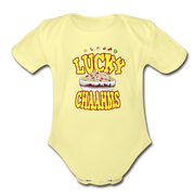 Lucky Chaahms Infant One Piece - washed yellow