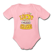 Lucky Chaahms Infant One Piece - light pink