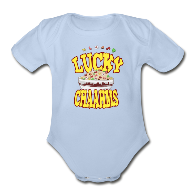Lucky Chaahms Infant One Piece - sky