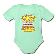 Lucky Chaahms Infant One Piece - light mint