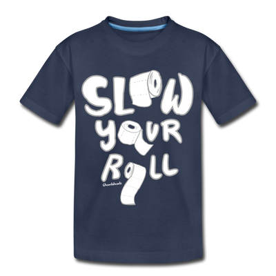 Slow Your Roll Youth T-shirt - navy
