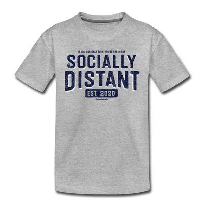 Socially Distant Youth T-Shirt - heather gray