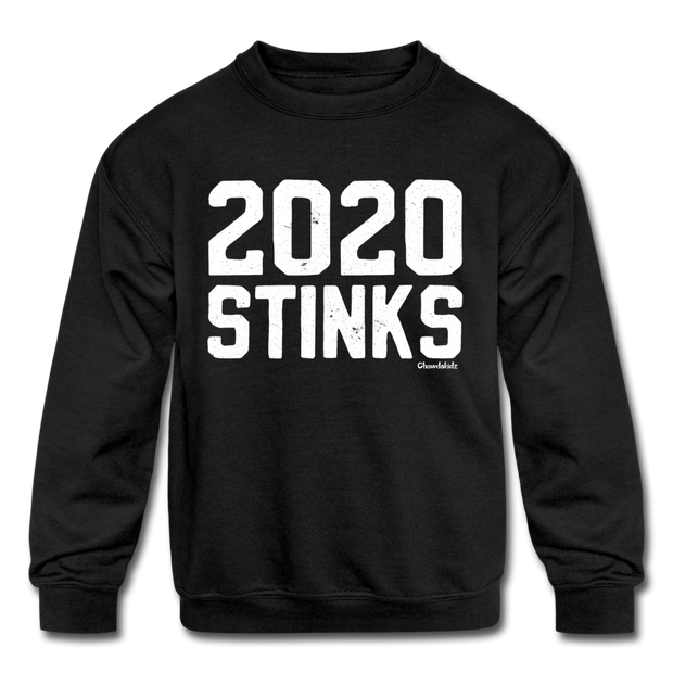 2020 Stinks youth Sweatshirt - black