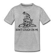 Don't Cough On Me Youth T-Shirt - heather gray