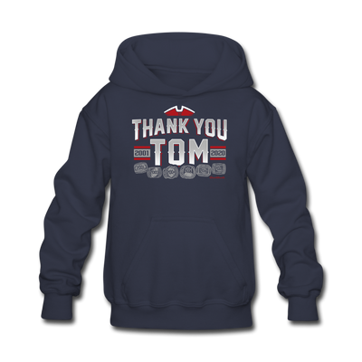 Thank You Tom Youth Sweatshirt - navy
