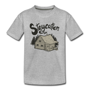 Staycation Toddler T-Shirt - heather gray