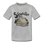 Staycation Youth T-Shirt - heather gray