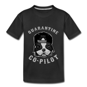 Quarantine Co-Pilot Youth T-Shirt - black