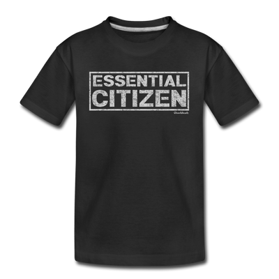 Essential Citizen Youth T-shirt - black