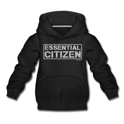 Essential Citizen Youth Sweatshirt - black