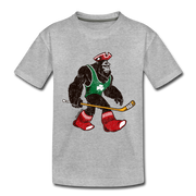 Massquatch Toddler T-shirt - heather gray