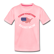 Come Together Right Now Youth T-Shirt - pink