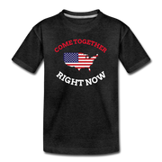 Come Together Right Now Youth T-Shirt - charcoal gray