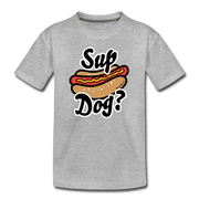 Sup Dog Youth T-Shirt - heather gray