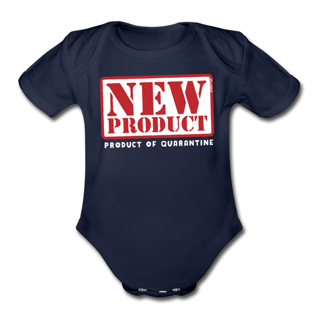New Product of Quarantine Infant One Piece - dark navy