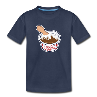 Boston Ice Cream Toddler T-Shirt - navy