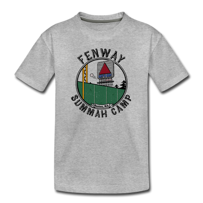Fenway Summah Camp Toddler T-Shirt - heather gray