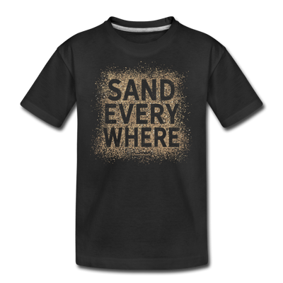 Sand Everywhere Youth T-Shirt - black