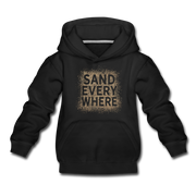 Sand Everywhere Youth Sweatshirt - black