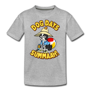 Dog Days of Summer Youth T-shirt - heather gray