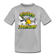 Wicked Jawsome Youth T-Shirt - heather gray