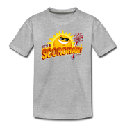 It's a Scorchah! Toddler T-Shirt - heather gray