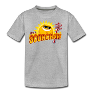 It's a Scorchah! Youth T-Shirt - heather gray