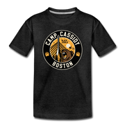 Camp Cassidy Boston Toddler T-Shirt - charcoal gray