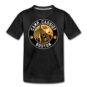 Camp Cassidy Boston Youth T-Shirt - charcoal gray