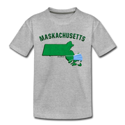 Maskachusetts Youth T-Shirt - heather gray