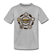 S'more Recipe Toddler T-Shirt - heather gray