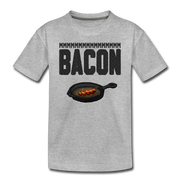 MMM...Bacon Toddler T-Shirt - heather gray
