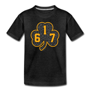 617 Black & Gold Street Toddler T-Shirt - charcoal gray