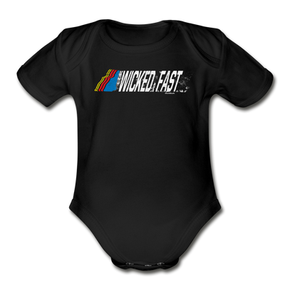 Wicked Fast Infant One Piece - black