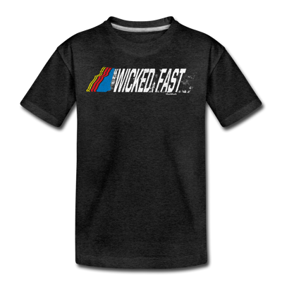 Wicked Fast Toddler T-Shirt - charcoal gray