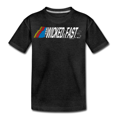 Wicked Fast Youth T-Shirt - charcoal gray
