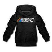 Wicked Fast Youth Sweatshirt - charcoal gray