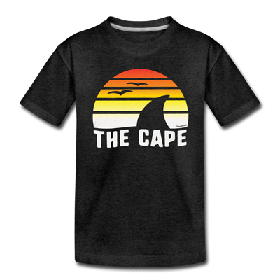 The Cape Sunset Youth T-Shirt - charcoal gray