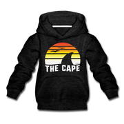 The Cape Sunset Youth Sweatshirt - charcoal gray