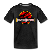 Boston Harbah Lobstah Youth T-Shirt - charcoal gray